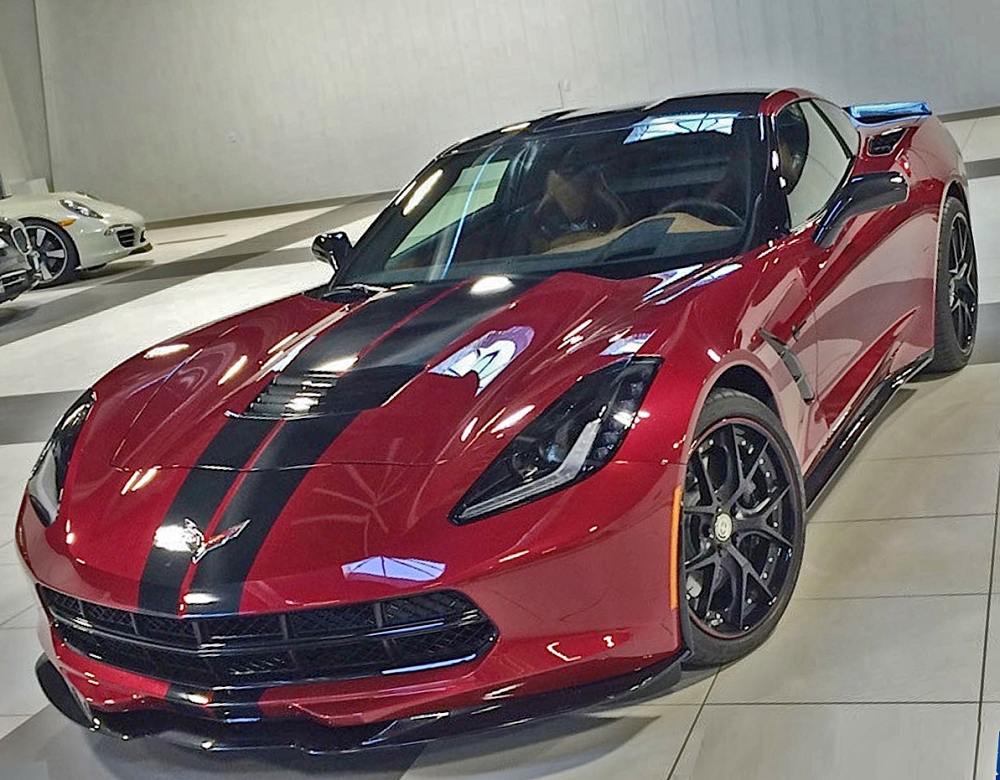 C7 Corvette Stingray 2014 Gm Ground Effects Package W