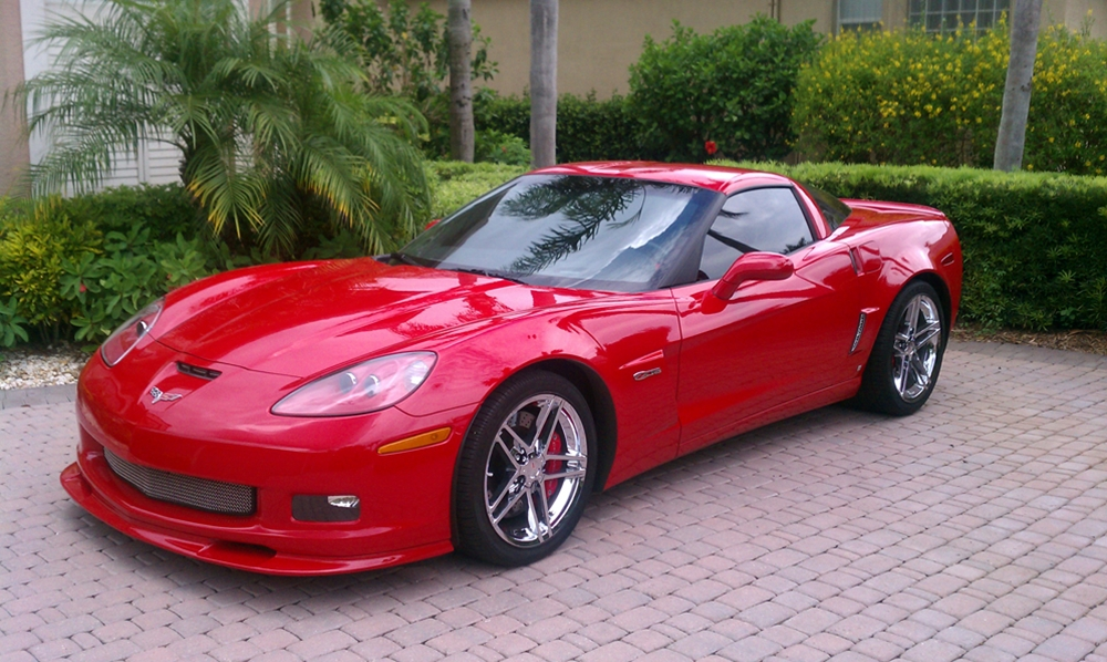 Zr1 style custom painted 2005 current base z06 zr1 grand sport